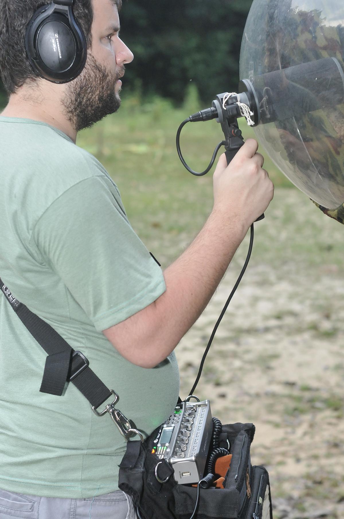 Nature recordist Juan Pablo Culasso