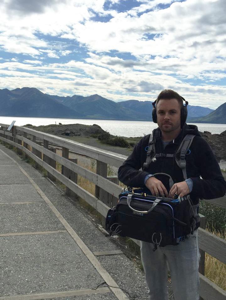 Joshua Baggett mixing in Alaska
