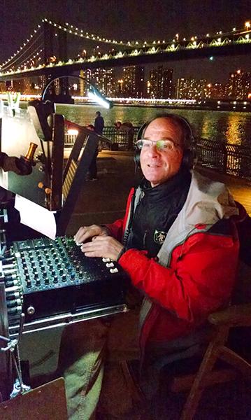 Thomas Varga mixing at night