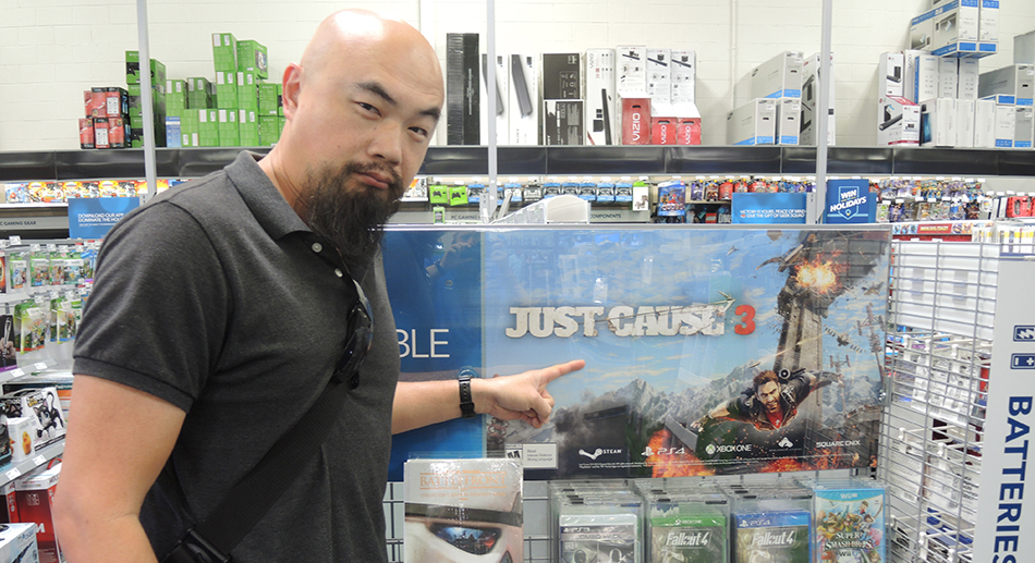 Watson Wu and Just Cause 3 video game