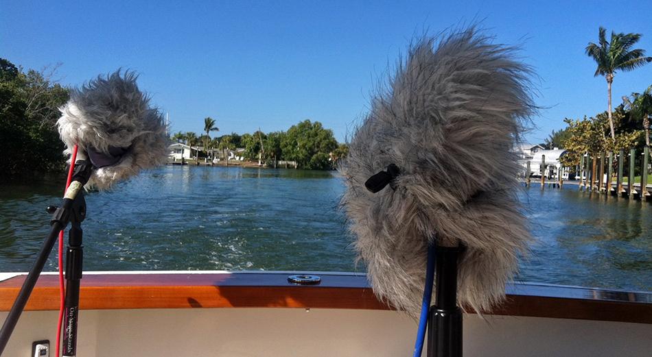 Watson Wu on a yacht