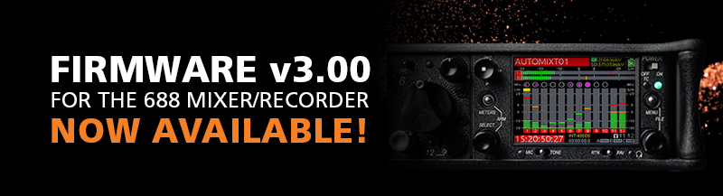 Firmware v3.00 now available