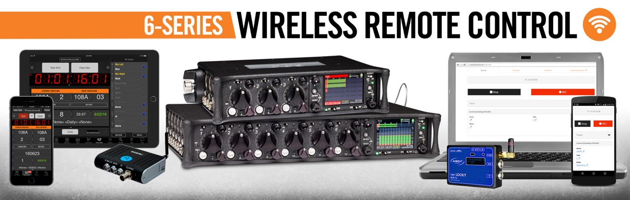 6-Series Now Offers Wireless Remote Control