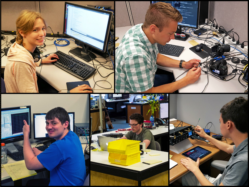 Sound Devices 2016 Summer Interns