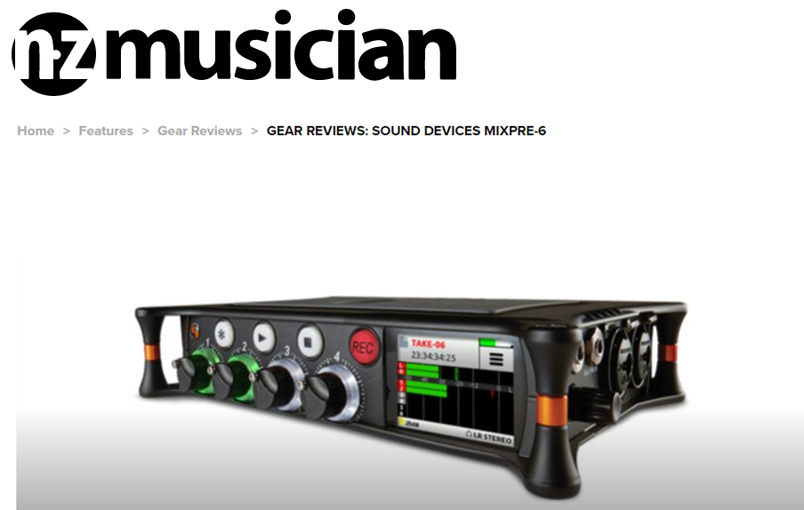 NZ Musician Mag MixPre-6 Review
