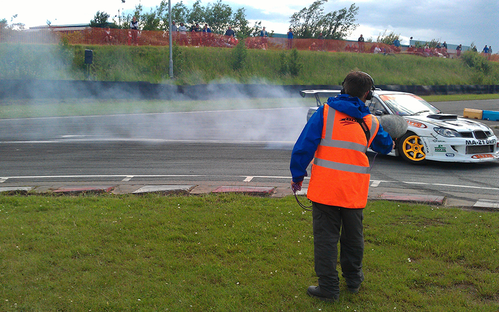 Brad Porter at Drift Championship 2012