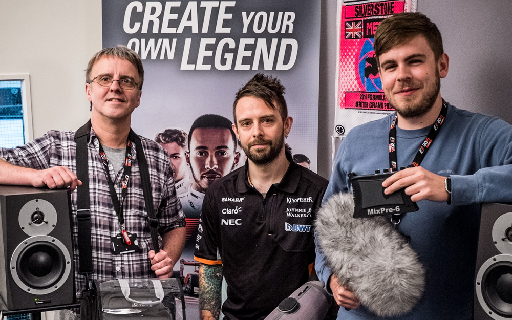 Codemasters' F1 Audio Team