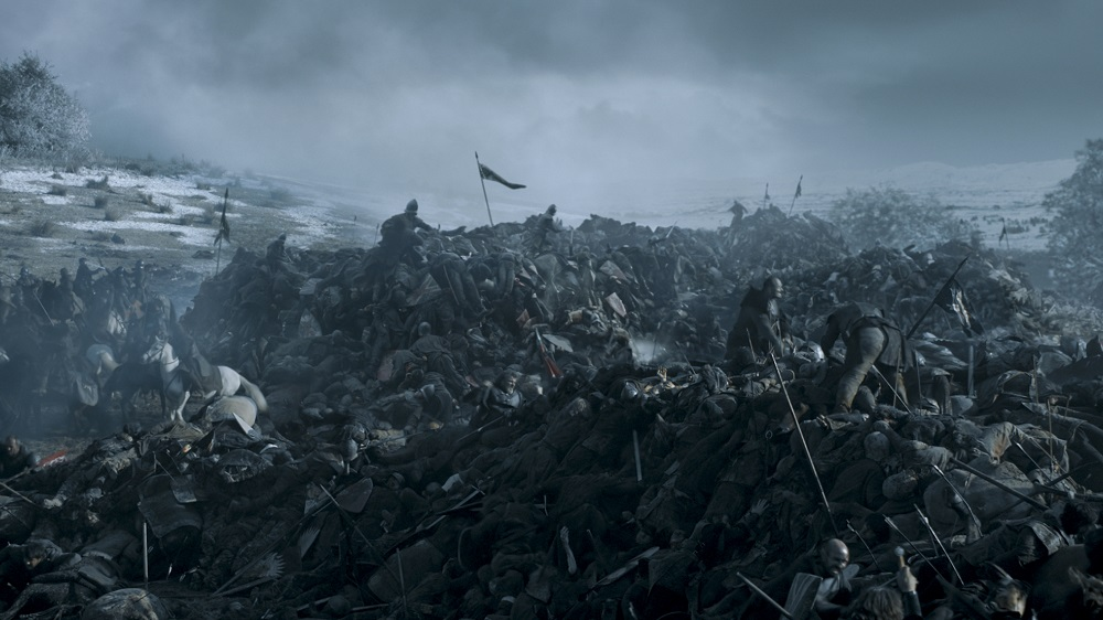 Battle scene from BoB - Photo Credit: HBO