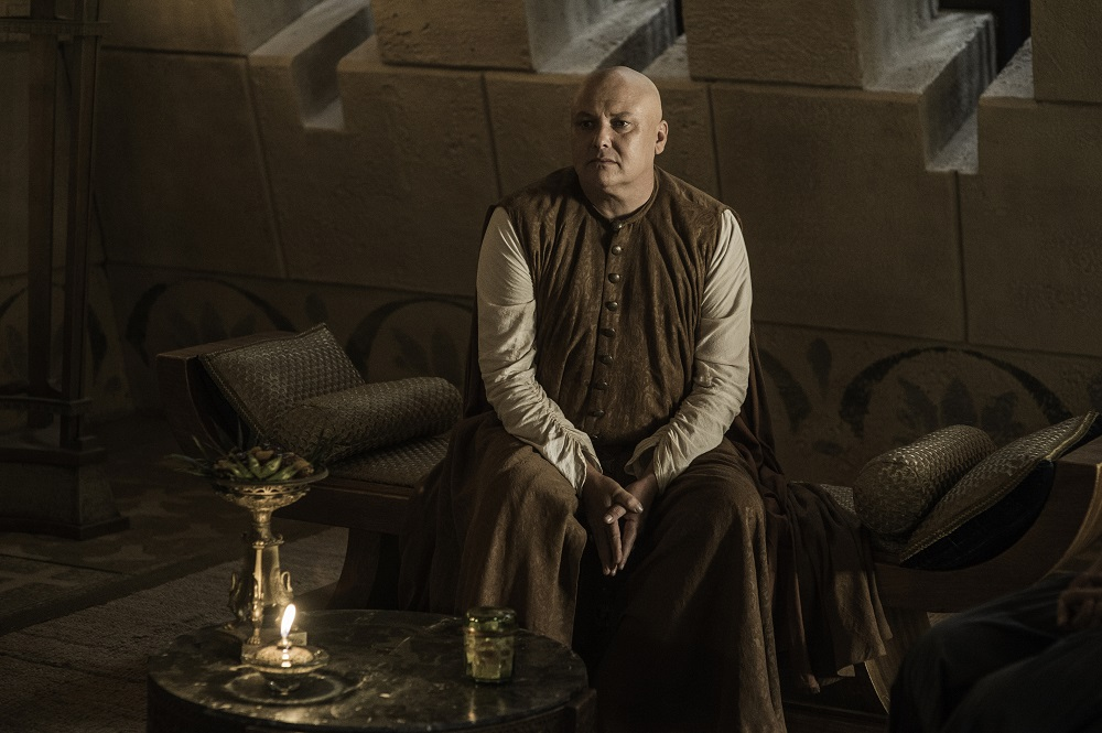 Conleth Hill as Varys - Photo Credit: Helen Sloan - HBO