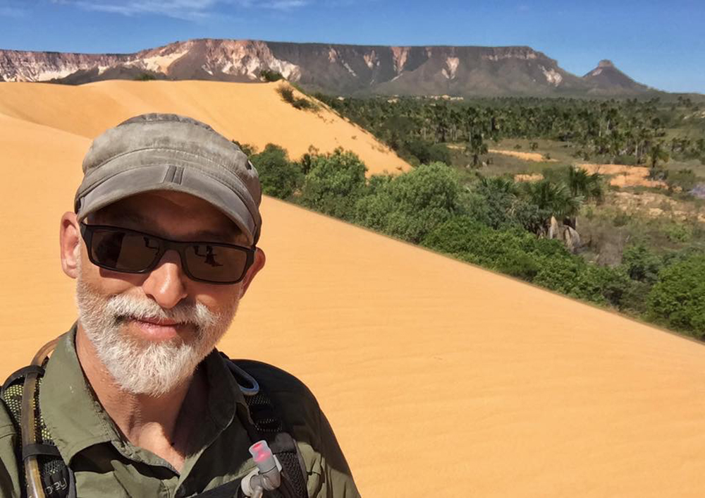 Selfie at the Dunes in Jalapao Brazil