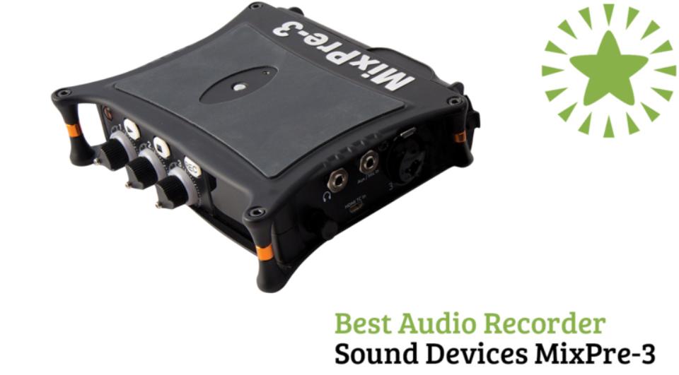 Videomaker Best Audio Recorder - MixPre-3