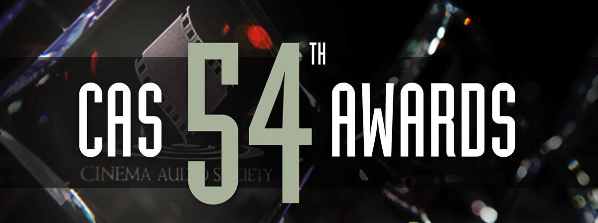 54th CAS Awards