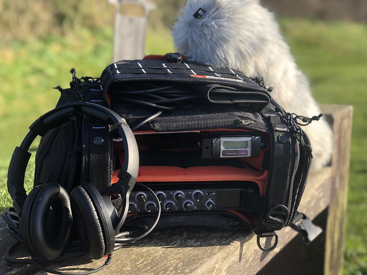 Liam's MixPre-10T sound bag