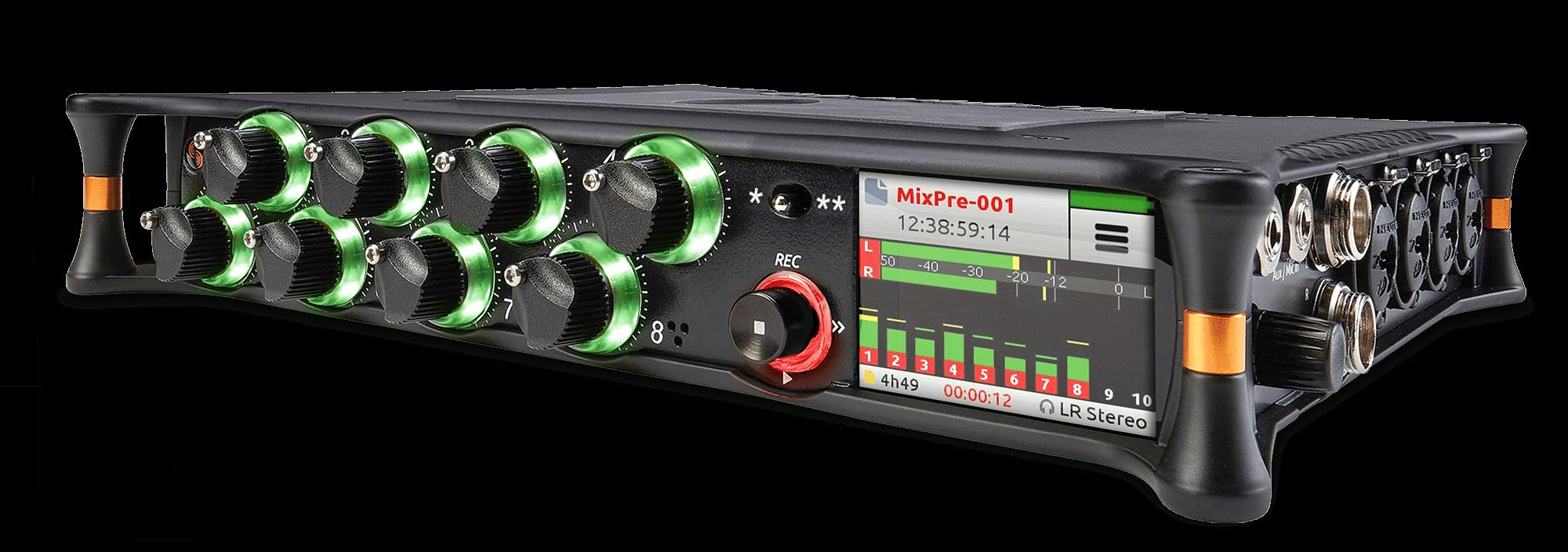 MixPre-10T audio recorder