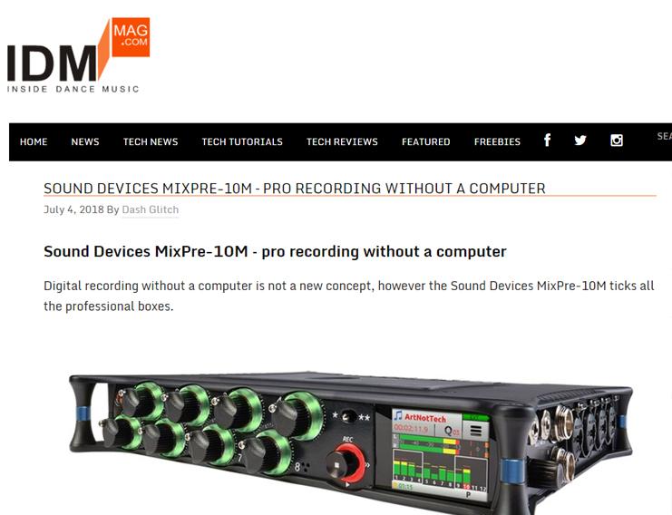 IDM MixPre-10M review