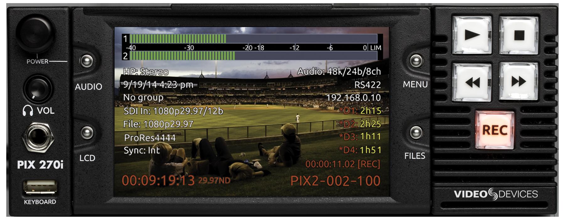 PIX 270i » Sound Devices